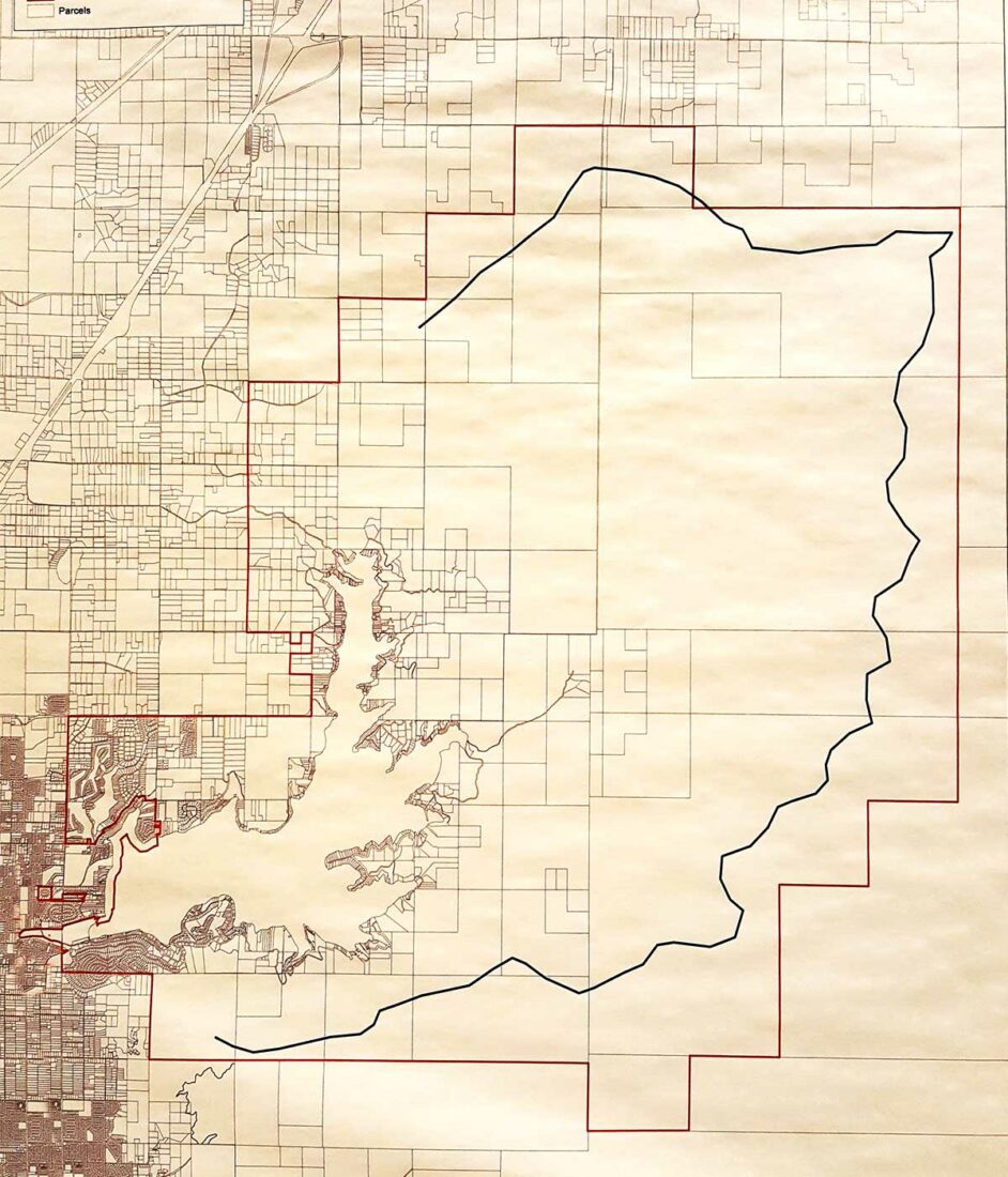 Hayden Lake Watershed Improvement District map