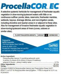 Procellacor Label